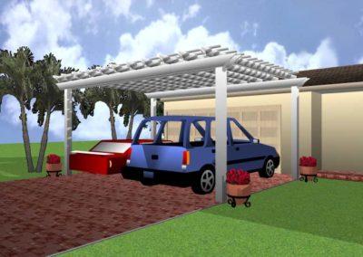 Garage Parking Pergola